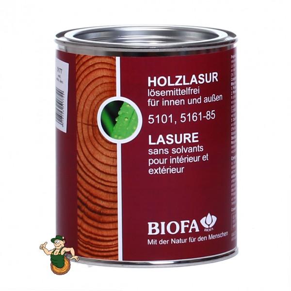 Holzlasur, farbig, lösemittelfrei 5101, 5161-5185