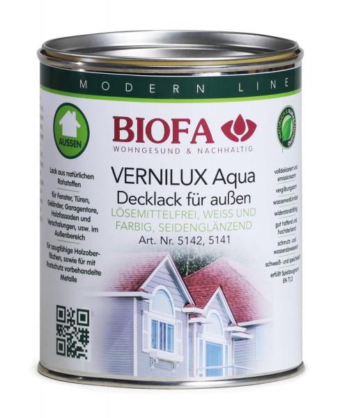 VERNILUX Aqua Decklack außen, farbig, seidenglänzend 5141