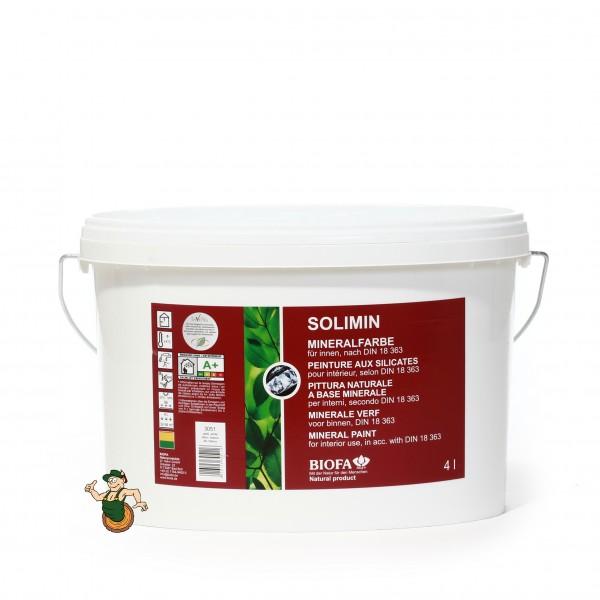 SOLIMIN Silikatfarbe / Mineralfarbe, weiß, lösemittelfrei 3051