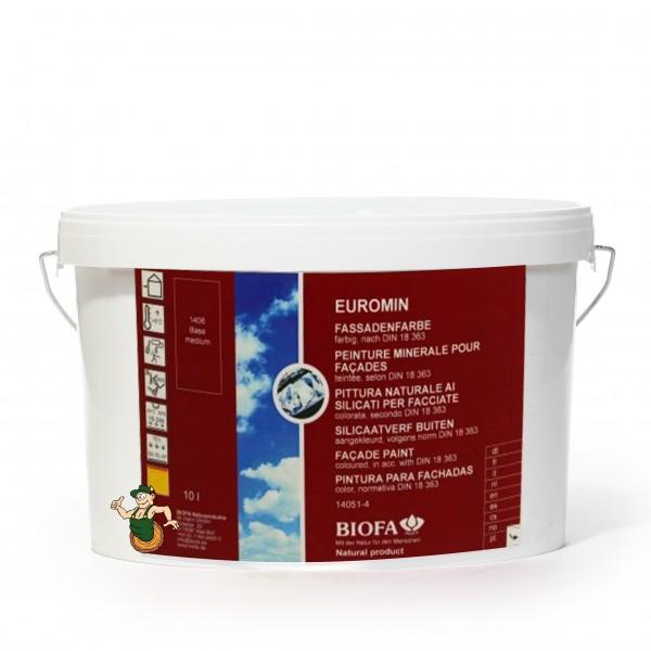 EUROMIN color Fassadenfarbe, 10 Liter 14051-4
