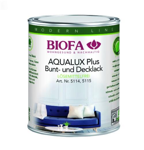 AQUALUX Plus Decklack, lösemittelfrei 5114