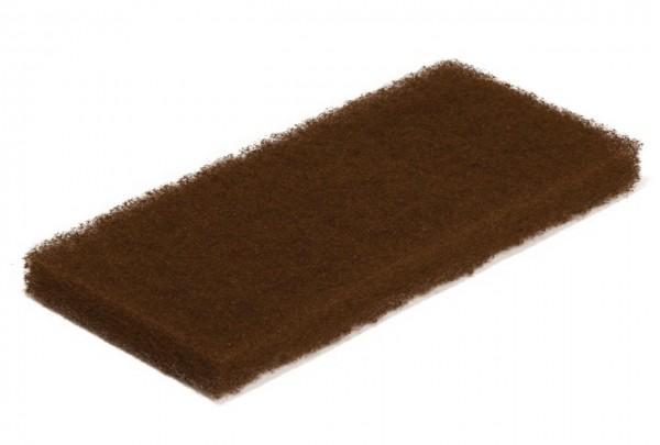 Braunes Super-Reinigungspad groß