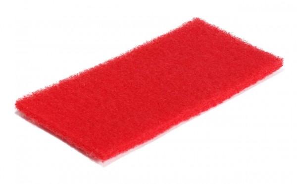 Rotes Normal-Reinigungspad groß